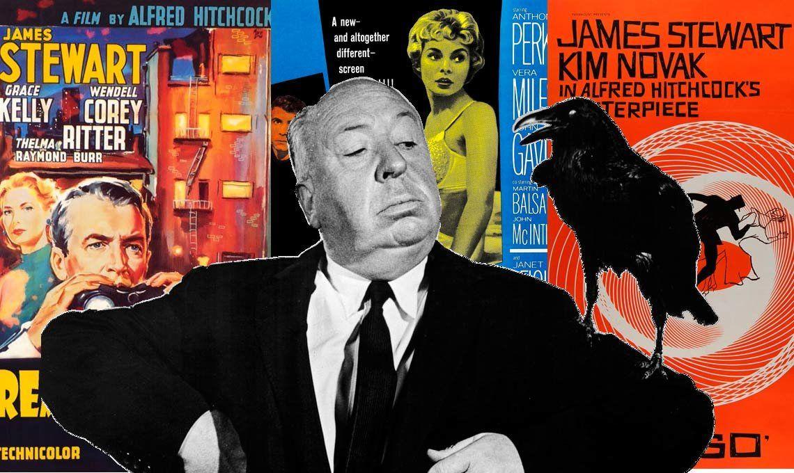Cinco películas para admirar el legado inmenso de Alfred Hitchcock a 120 años de su nacimiento