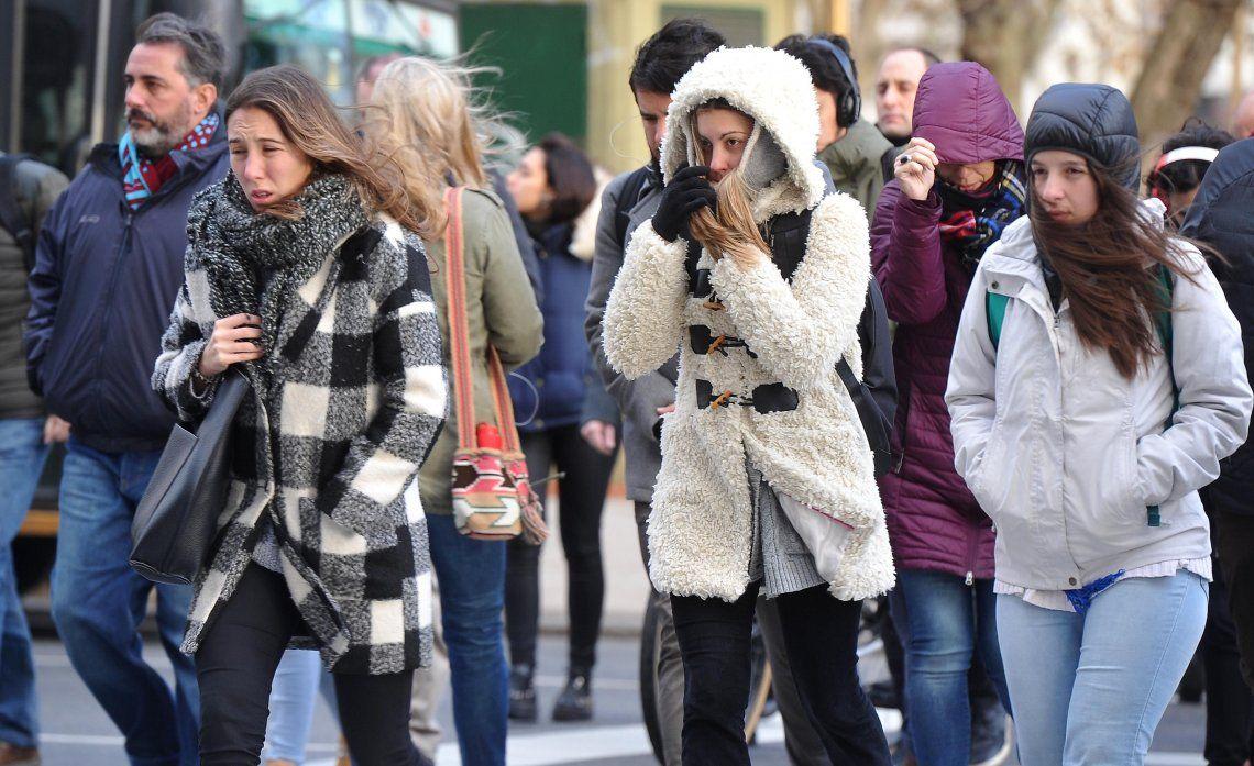 Frío intenso: para mañana, se espera una mínima de -2 grados