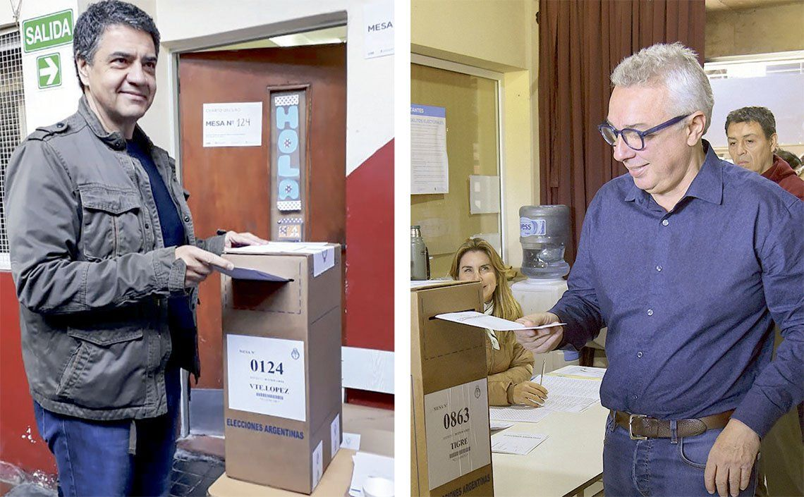 PASO | Jorge Macri y Julio Zamora, con un fuerte respaldo vecinal
