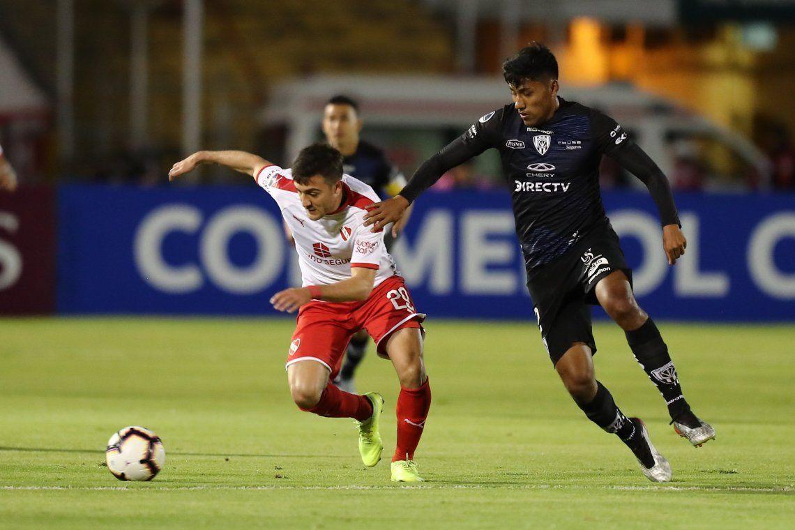 El Independiente de Beccacece perdió con Independiente del Valle y quedó eliminado de la Copa Sudamericana