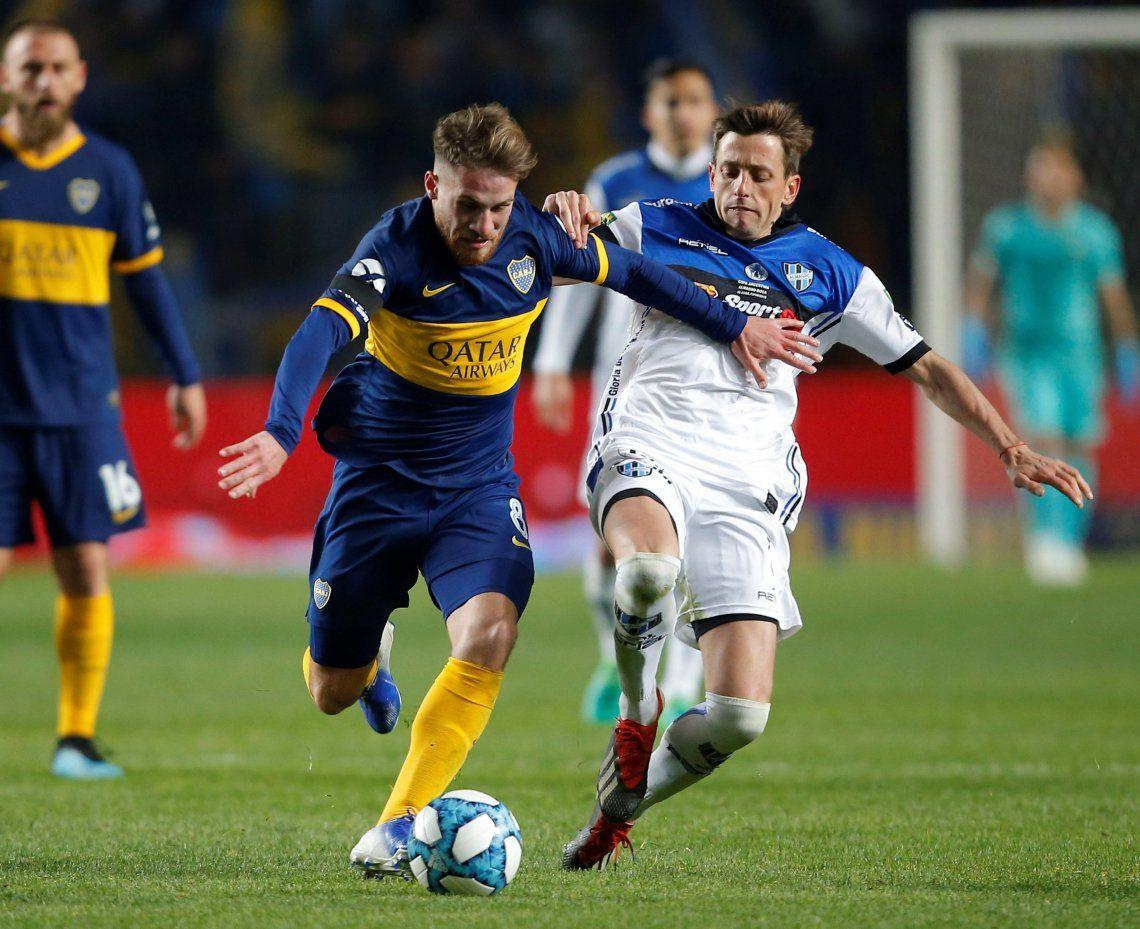 Boca-Almagro por la Copa Argentina: la mejores fotos del debut de Daniele De Rossi