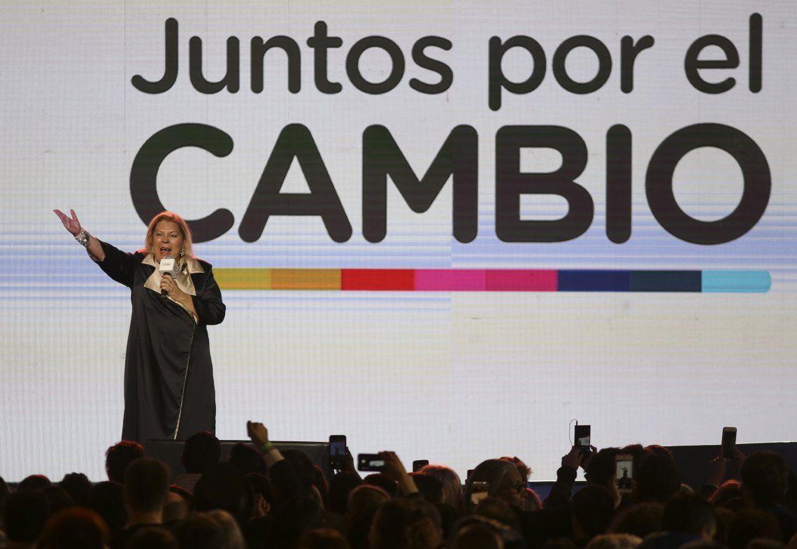 Carrió: Mi apoyo a Mauricio Macri es absoluto, no se negocia con nadie