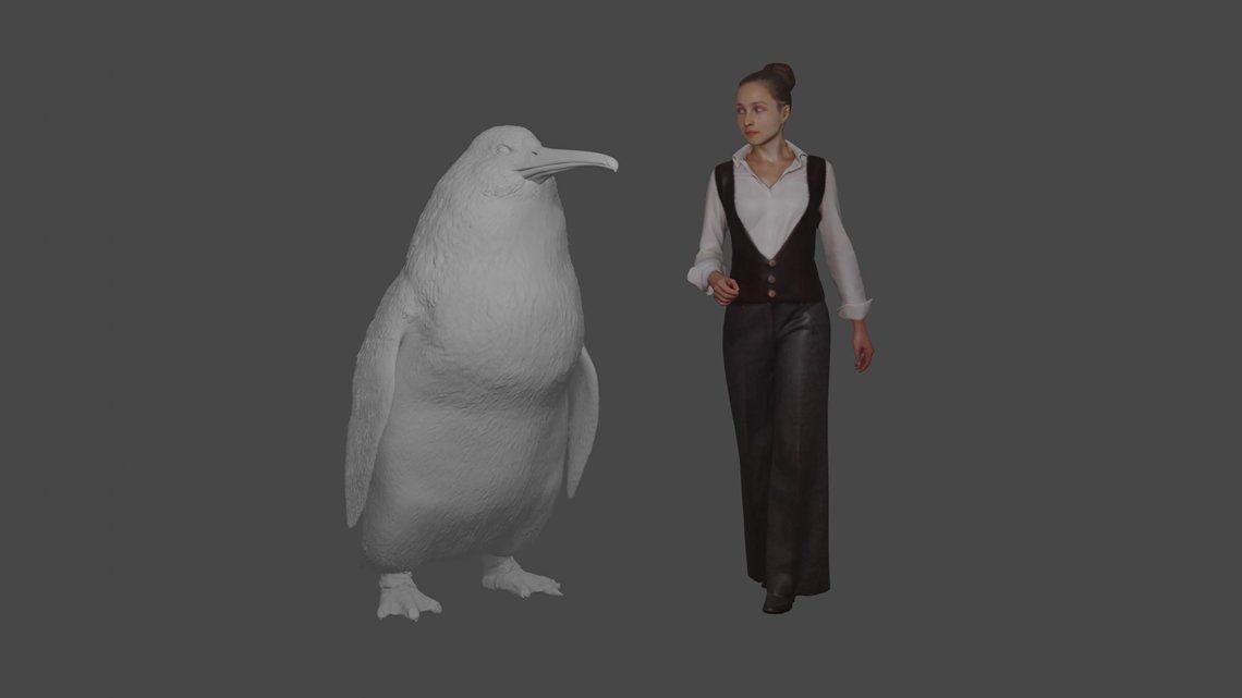 Descubren que un pingüino monstruo vivió en Nueva Zelanda