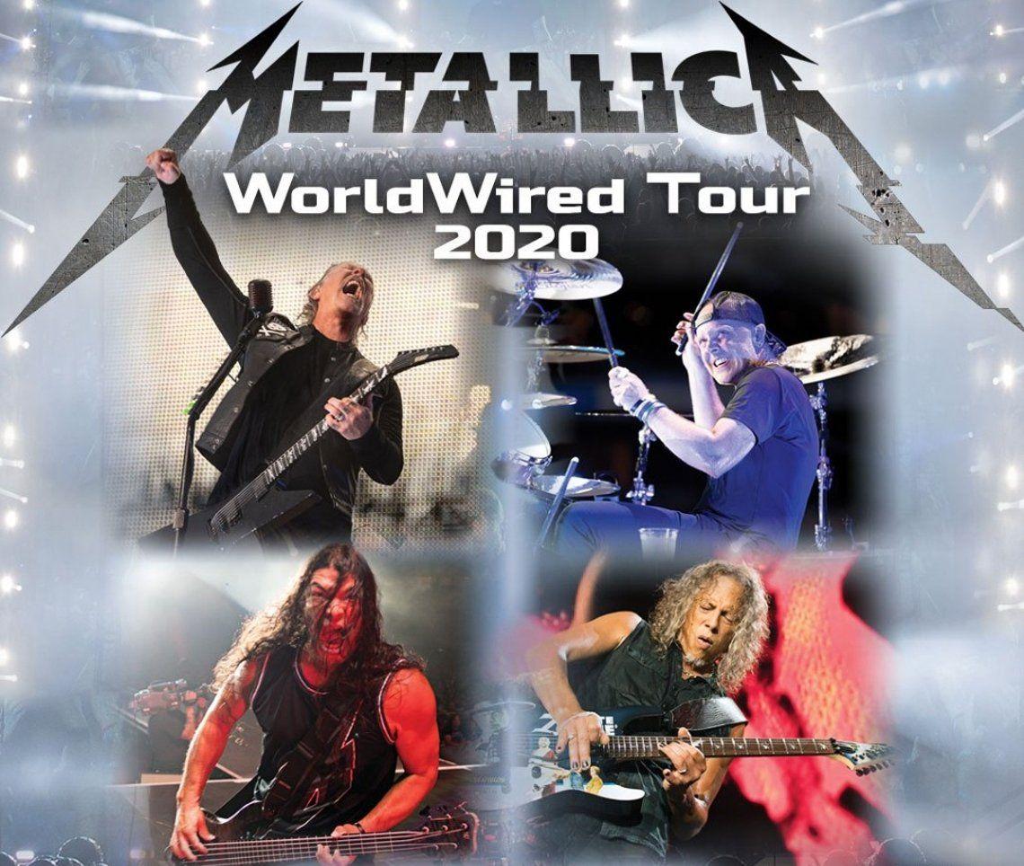 Metallica regresa a la Argentina en 2020: fecha, lugar, cuándo salen a la venta las entradas y cuánto costarán los tickeks con la suba del dólar