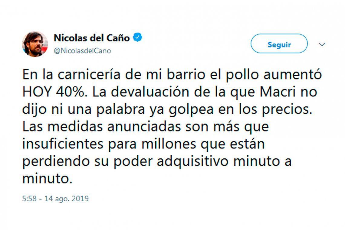 Qué dijo la oposición tras los anuncios de Mauricio Macri