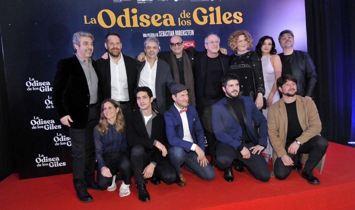 Todo el elenco de La Odisea de los Giles