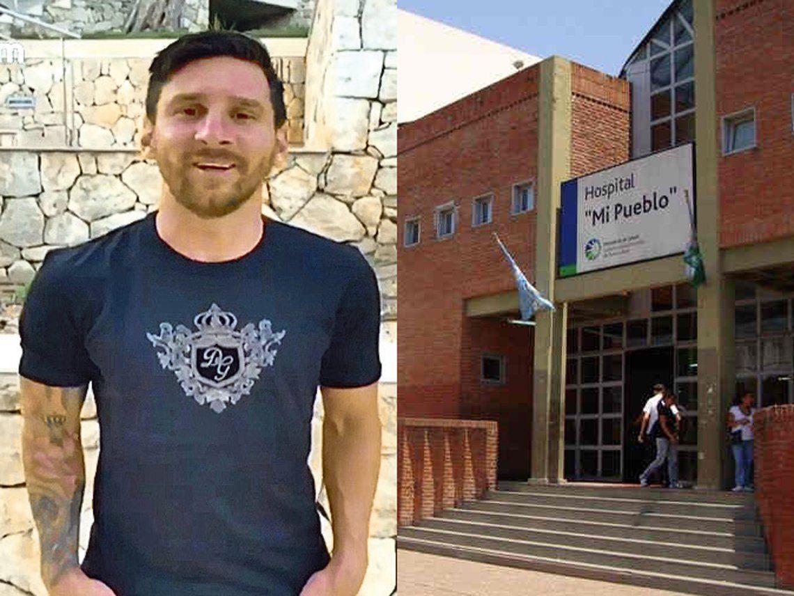 Florencio Varela: Lionel Messi donó 5 millones de pesos al Hospital Mi Pueblo