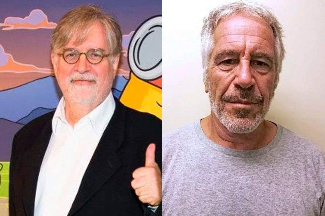 Matt Groening, el creador de Los Simpson, quedó implicado en los testimonios de abuso de Jeffrey Epstein
