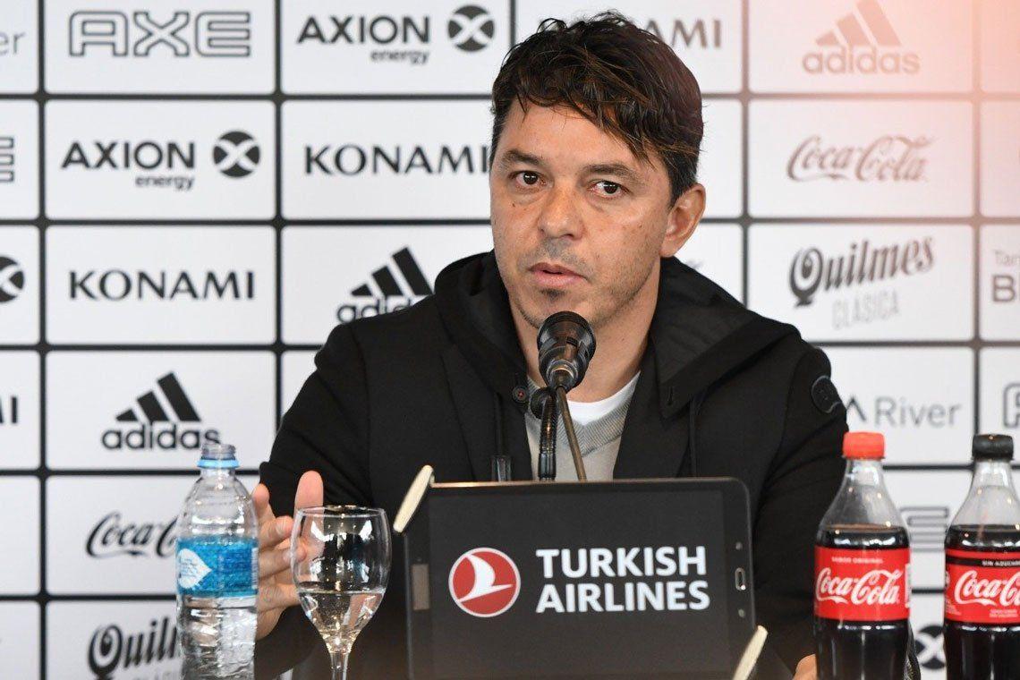 Marcelo Gallardo y el arbitraje ante Boca: Las decisiones para mí gusto fueron escandalosas, ahora valoro más la clasificación