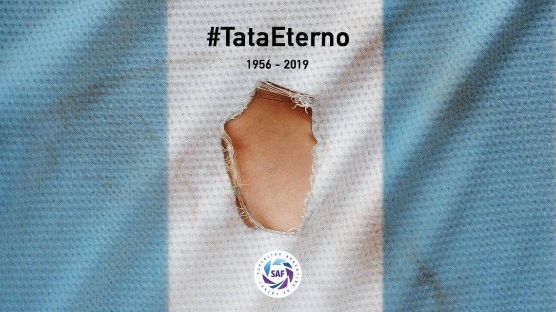 La Superliga homenajeará al Tata Brown toda la fecha