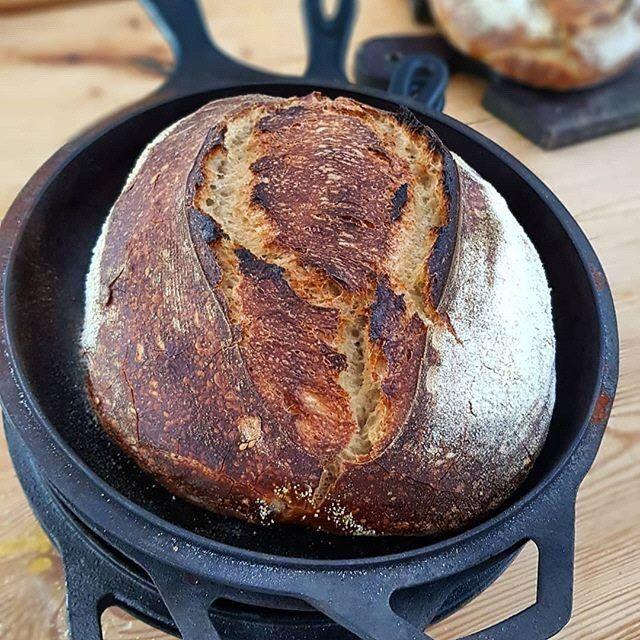 Receta para preparar el pan con masa madre