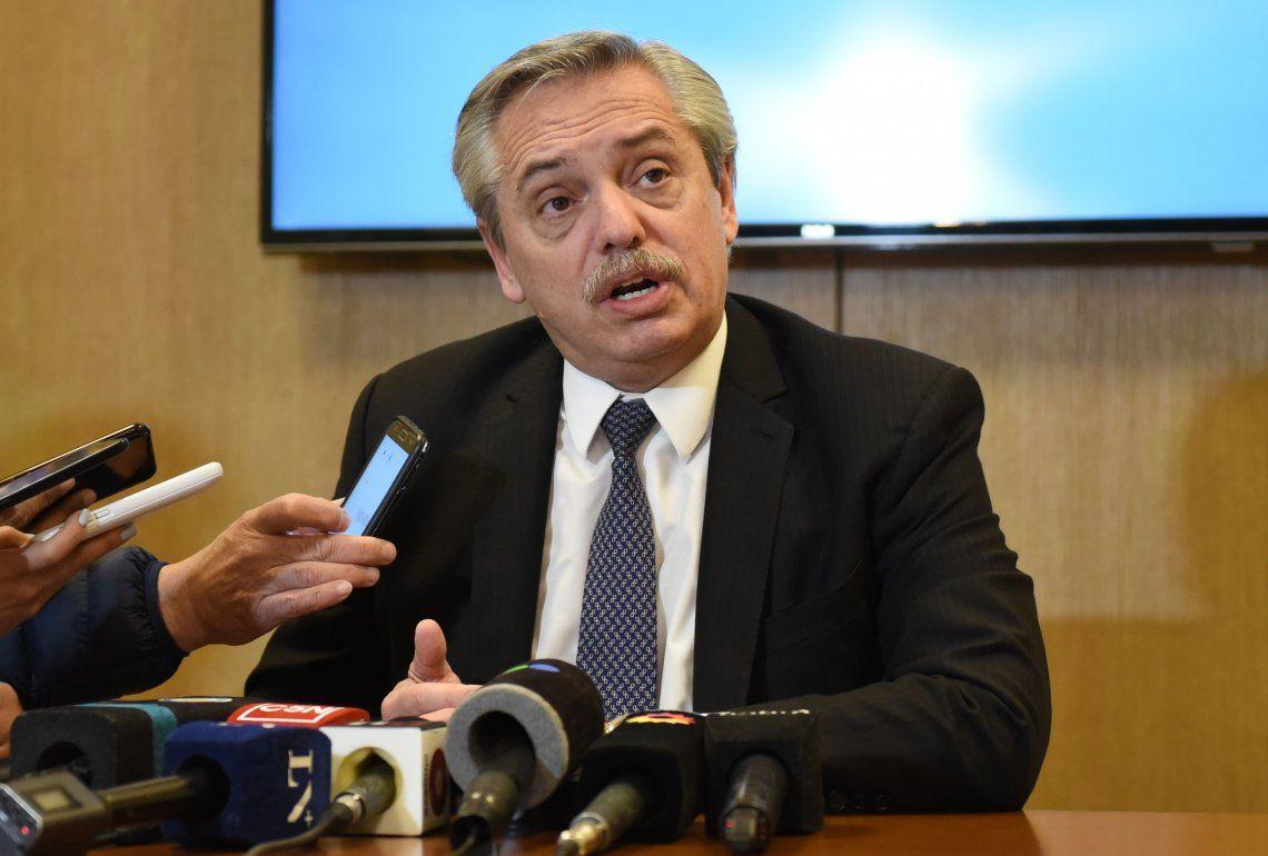 Alberto Fernández le pidió a Mauricio Macri que renegocie la deuda con el FMI: Lo que firmó no existe más