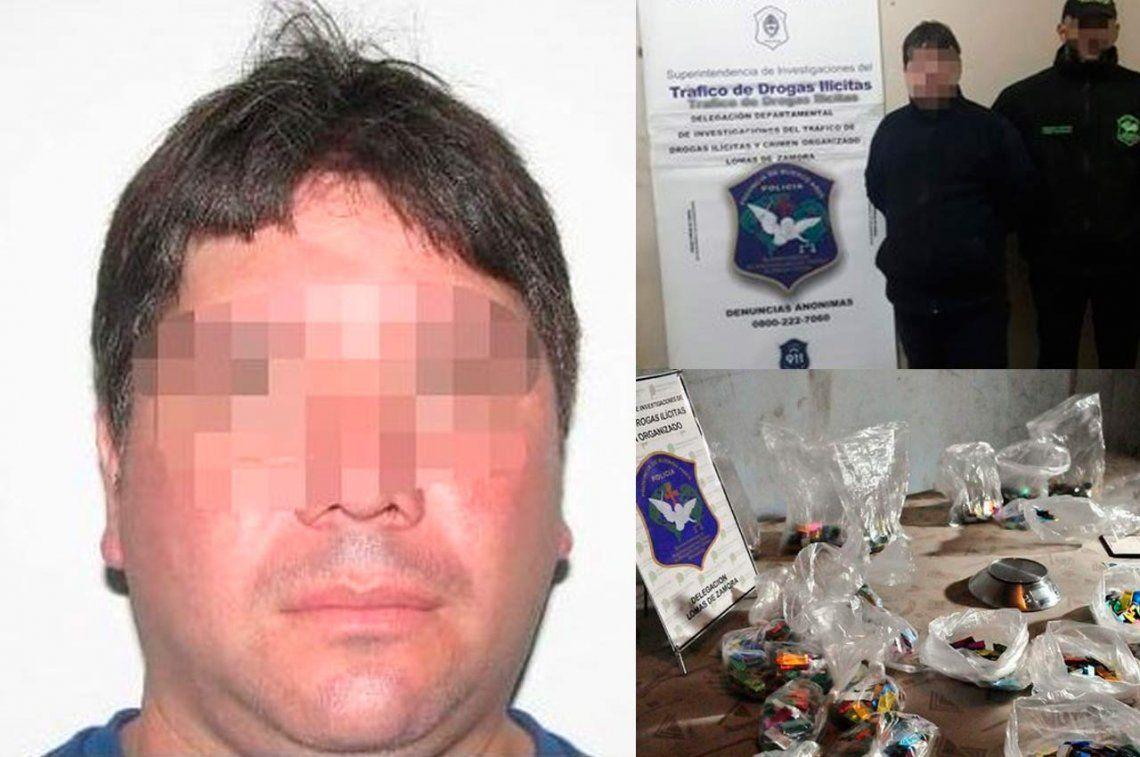 Atraparon en Avellaneda al narcotraficante Coni el químico