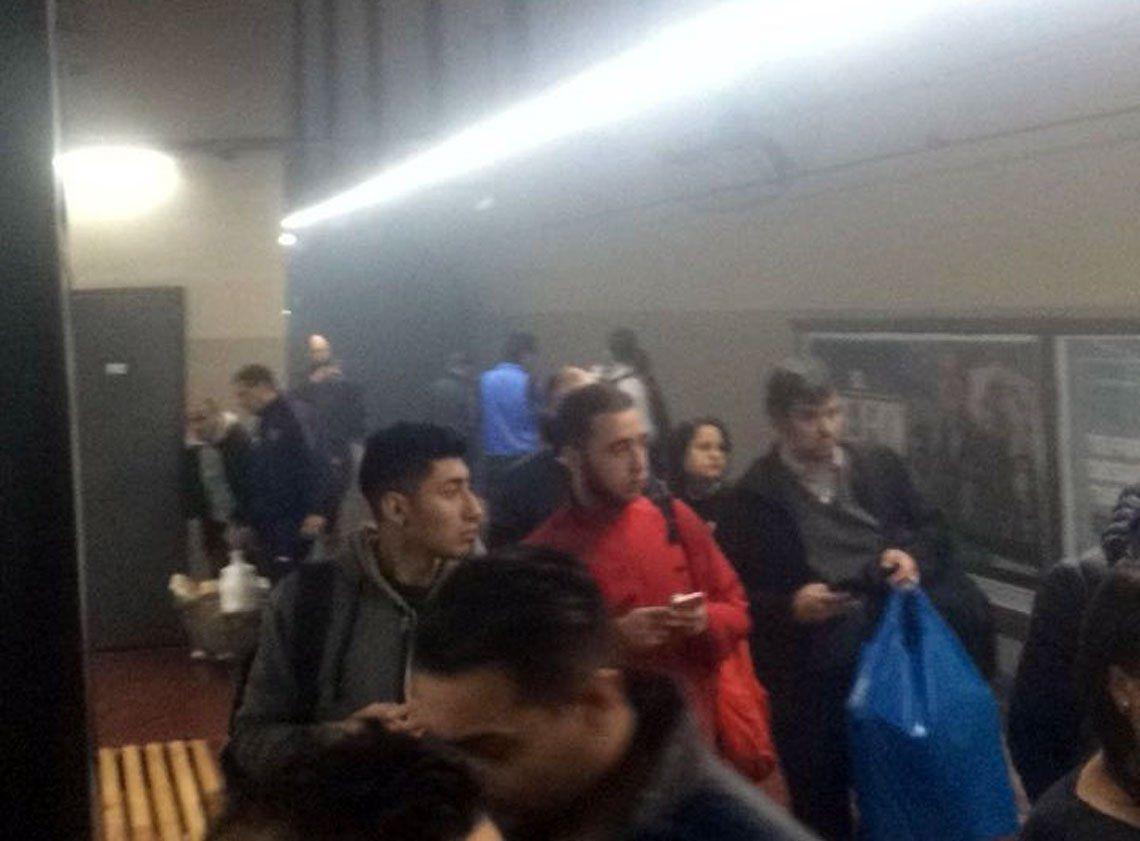 Fuego en la Línea E de subte: 6 personas hospitalizadas y servicio interrumpido