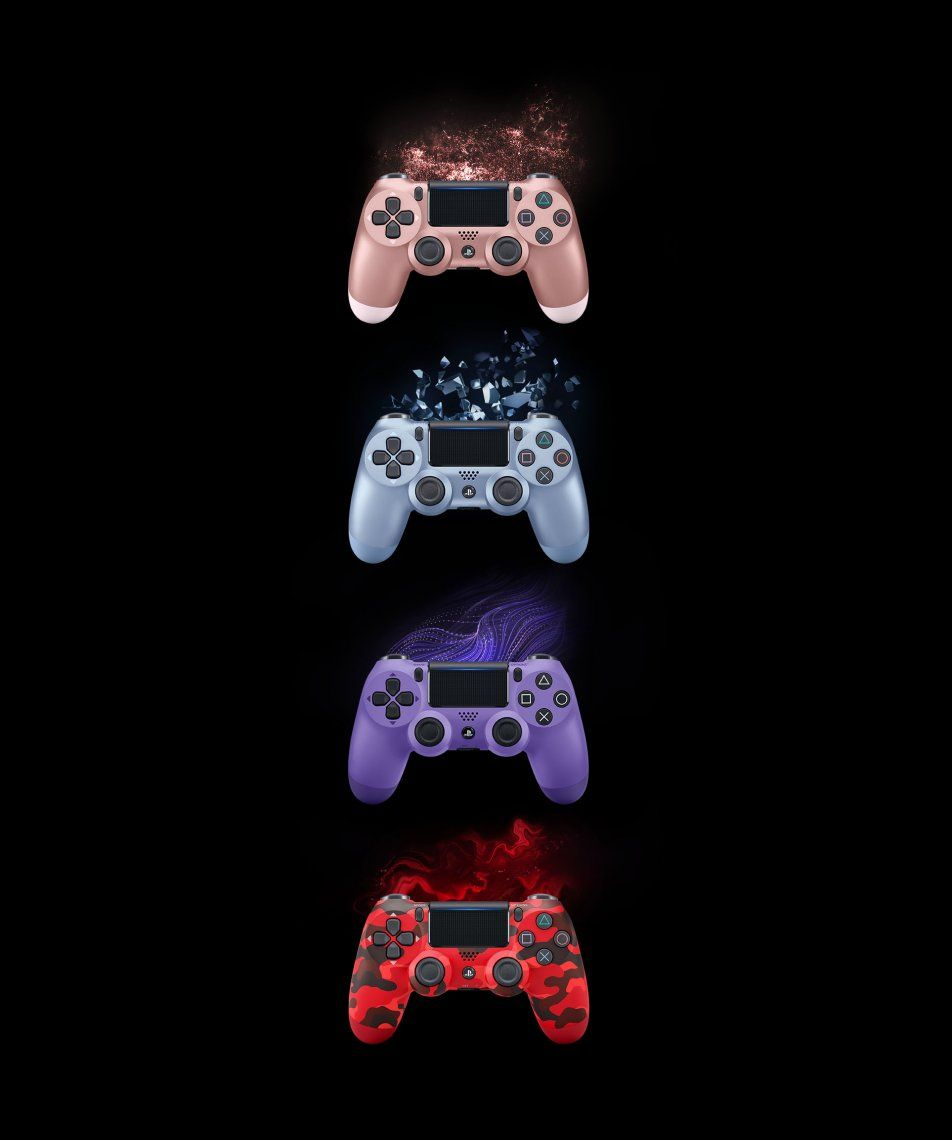 Mientras se espera por la PS5, Sony presentó nuevos joysticks a puro color