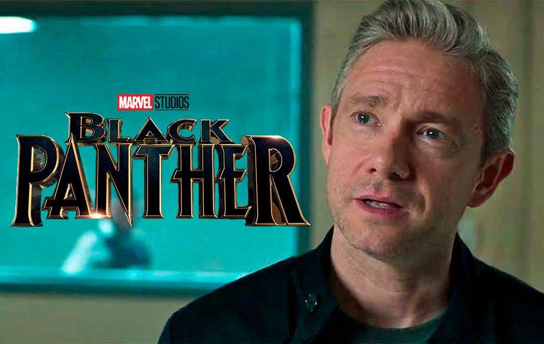 Black Panther 2: el actor Martin Freeman confirma el regreso de Everett K. Ross