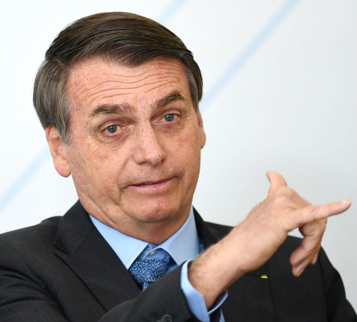 Jair Bolsonaro afirmó que hay un plan para derrocarlo