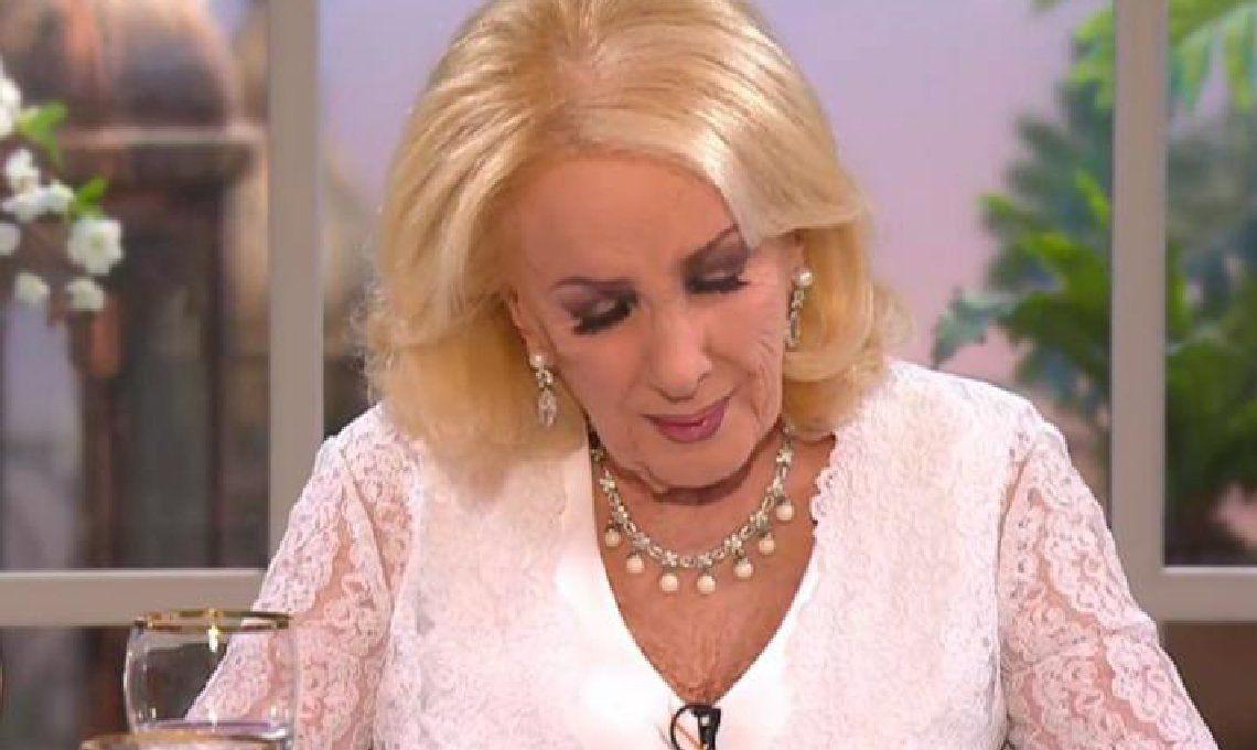 Mirtha Legrand canceló sus programas del fin de semana por la muerte de su hermano, José Martínez Suárez