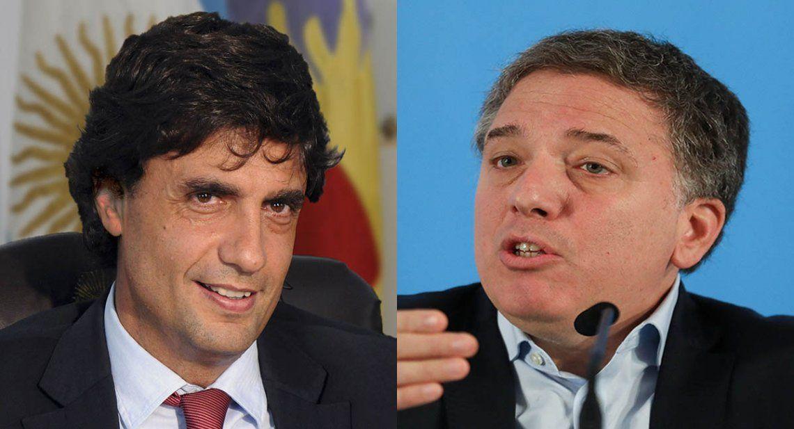 Renunció Nicolás Dujovne y el nuevo ministro de Hacienda será Hernán Lacunza