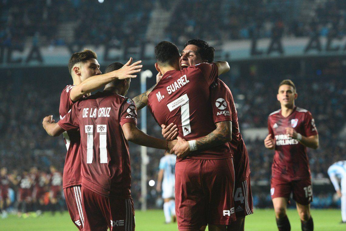 River le dio una paliza histórica a Racing: 6 a 1 en Avellaneda