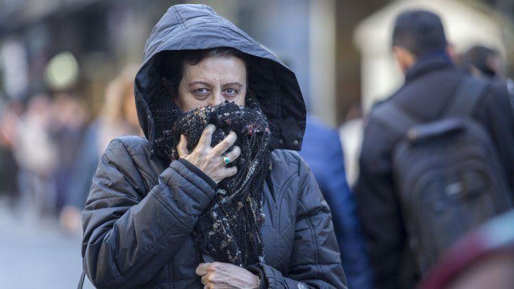 Frío polar invade la Ciudad de Buenos Aires