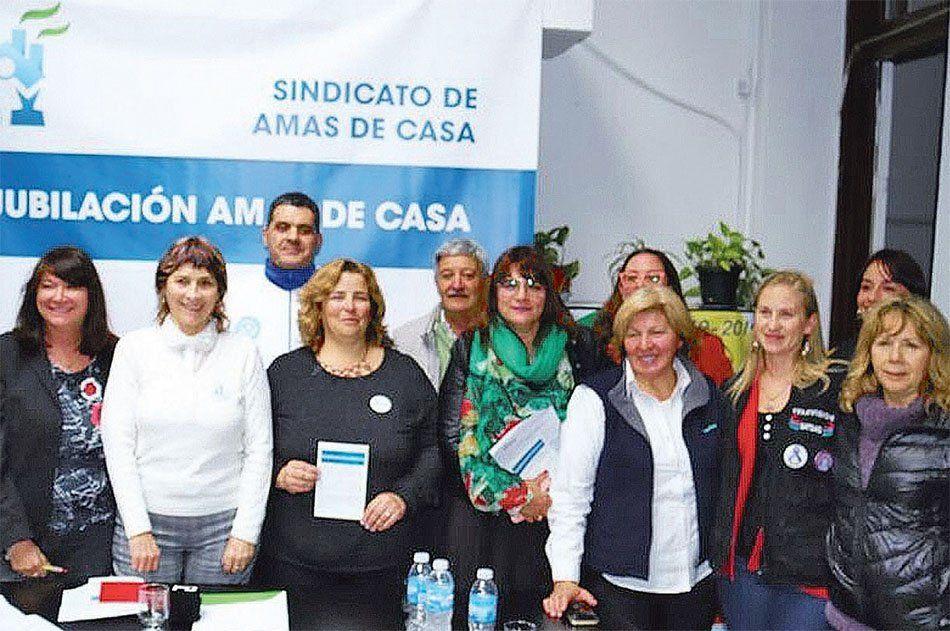Afiliadas del sindicato de Amas de Casa se reunirán mañana en Avellaneda.
