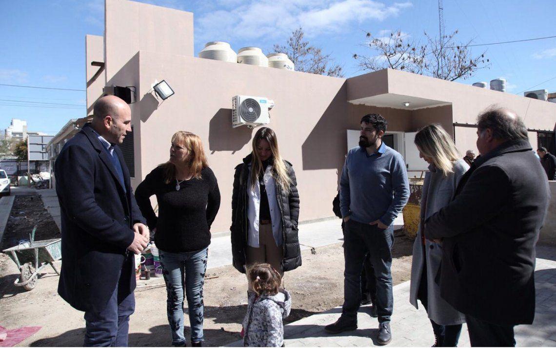 Quilmes: ampliaron el Centro de Atención Primaria de la Salud Houssay