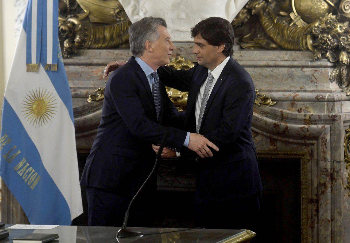 Video | Así fue la jura de Hernán Lacunza como ministro de Hacienda