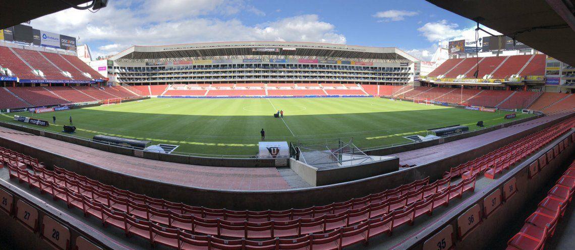 El estadio donde jugará Boca el miércoles con la Liga