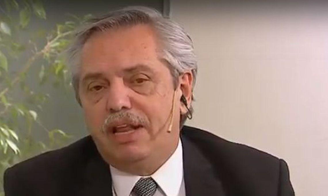 Alberto Fernández en Telenoche: Macri me pidió que vaya a Wall Street, pero no me parece que sea el momento
