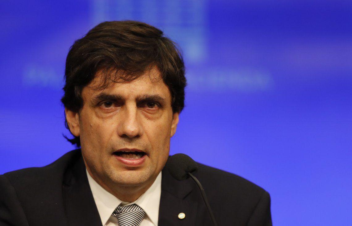 Lacunza aseguró que se usarán reservas para evitar una corrida irracional