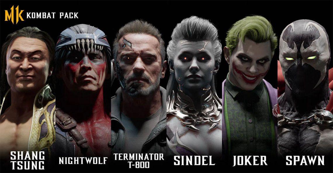 El Terminator T-800 de Arnold Schwarzenegger llega a Mortal Kombat 11