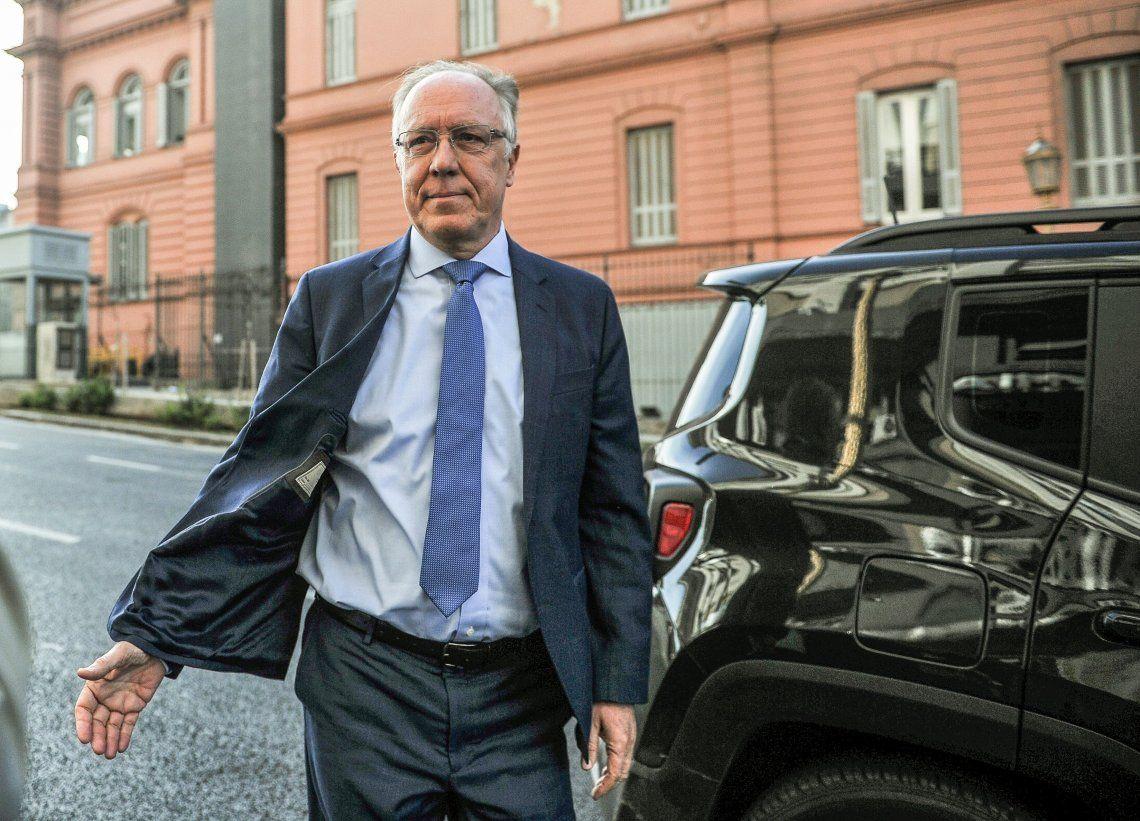 Hernán Lacunza se reunió con referentes económicos de Alberto Fernández