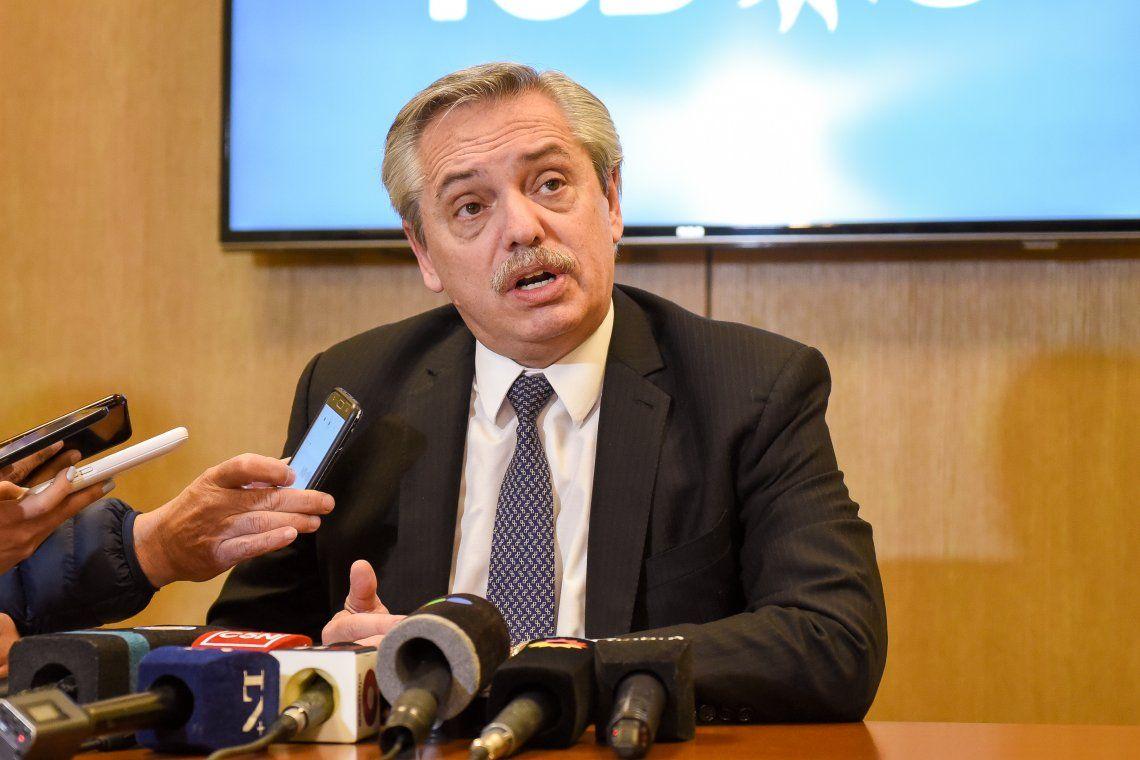 Alberto Fernández afirmó que si es Presidente Argentina no tiene ninguna posibilidad de caer en default