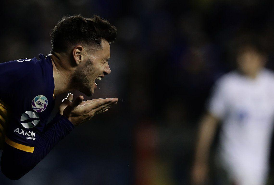 Tremenda baja para Boca: Zárate se desgarró y se pierde el Súperclásico con River