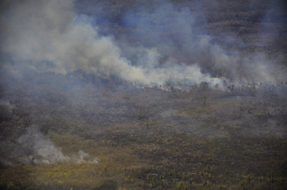 Galería | El incendio en el Amazonas, una catástrofe continental con impacto mundial