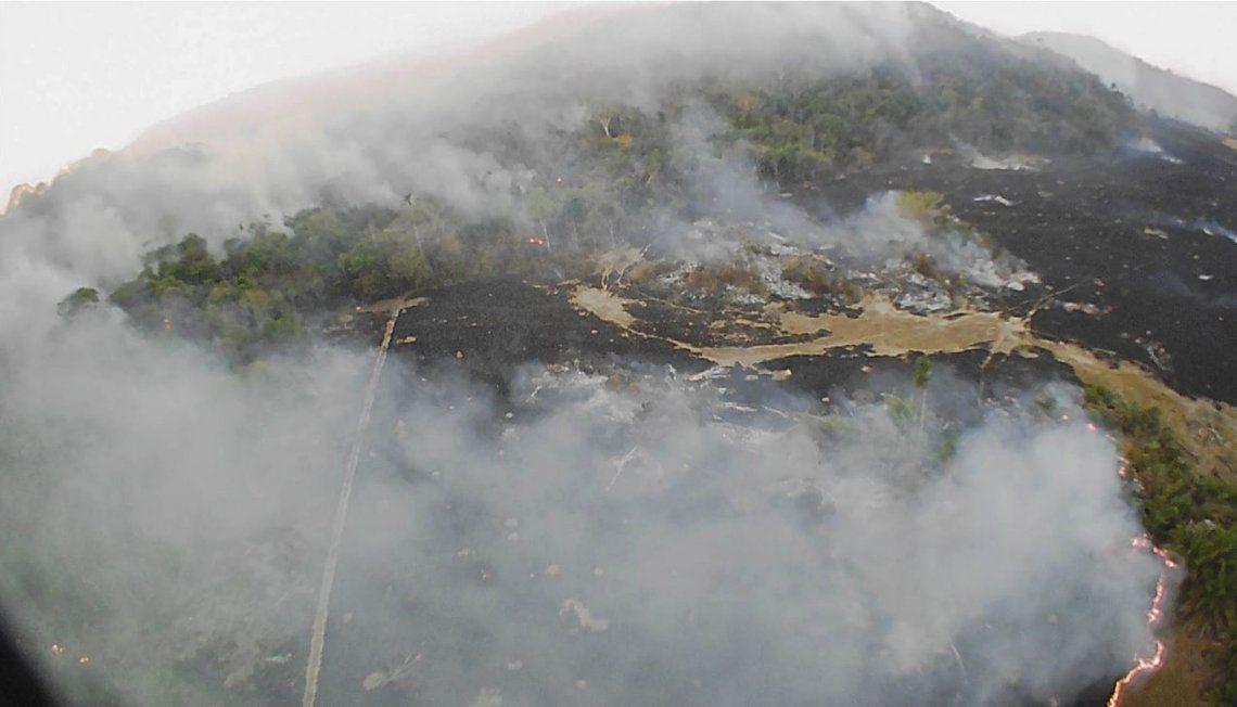 El humo de los incendios en el Amazonas llegó al norte de la Argentina y podría alcanzar a Buenos Aires