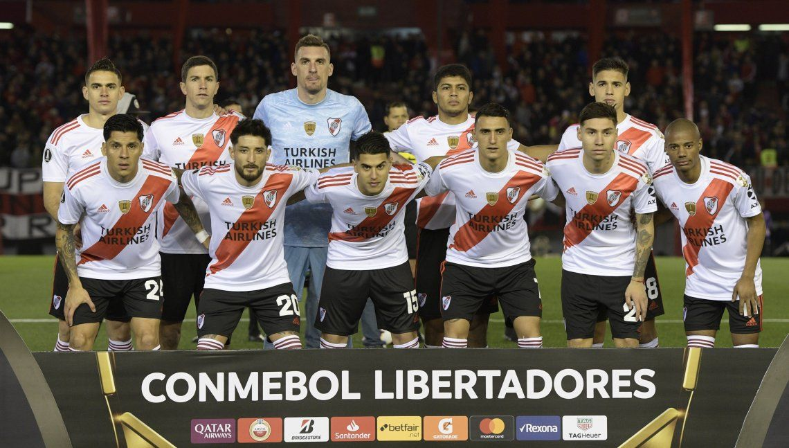 Copa Libertadores: Casco fue el más ovacionado y el punto más alto del equipo en el triunfo de River ante Cerro Porteño