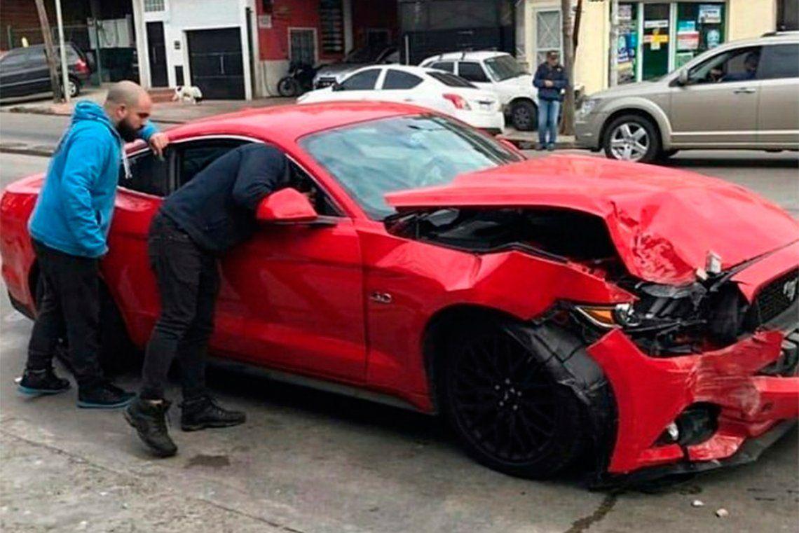 Villa Adelina: dejó un Ford Mustang de US$70.000 en el taller y se lo chocaron