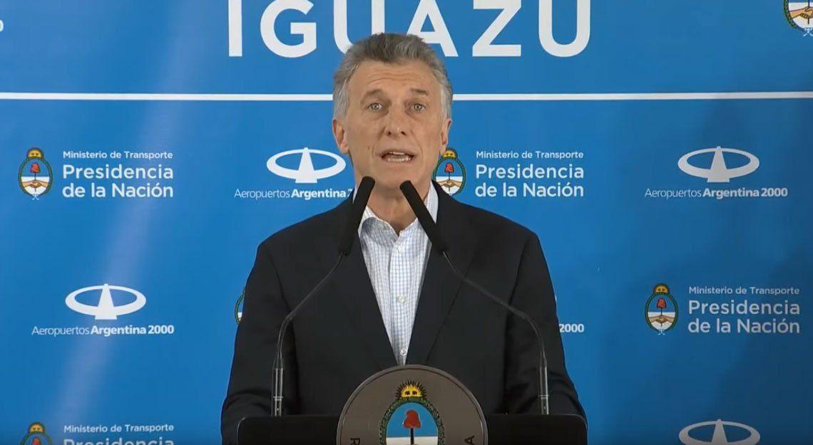 Macri y un nuevo acto con tono de campaña: Escuché a los argentinos, los escuché