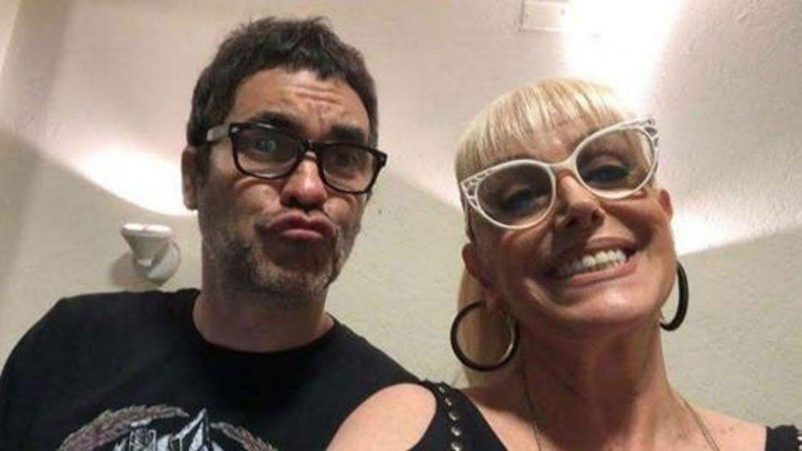 Fuertes rumores de romance entre Valeria Lynch y el cantante de A77aque