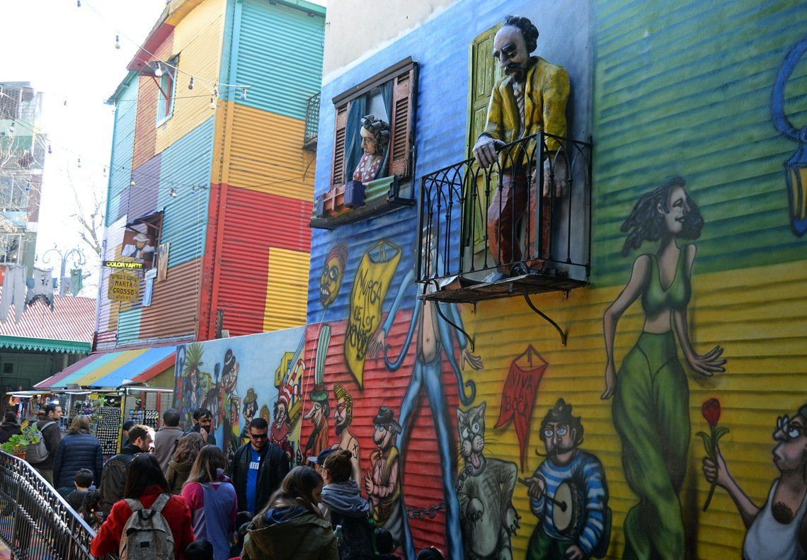 Fotos: el mítico barrio de La Boca festeja sus 149 años