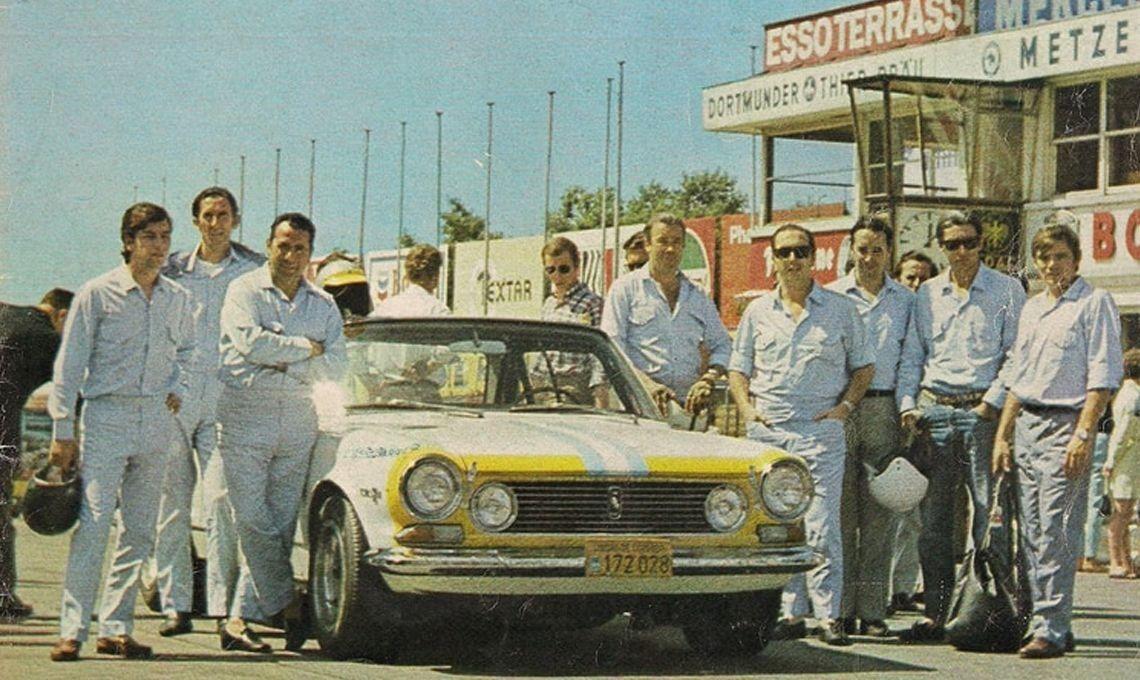 La Semana Torino: a 50 años de la expedición a Las 84 horas de Nürburgring, homenajearon a los protagonistas