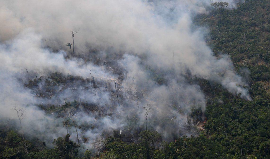 Los incendios que asolan la Amazonía se están convirtiendo en un tema diplomático.