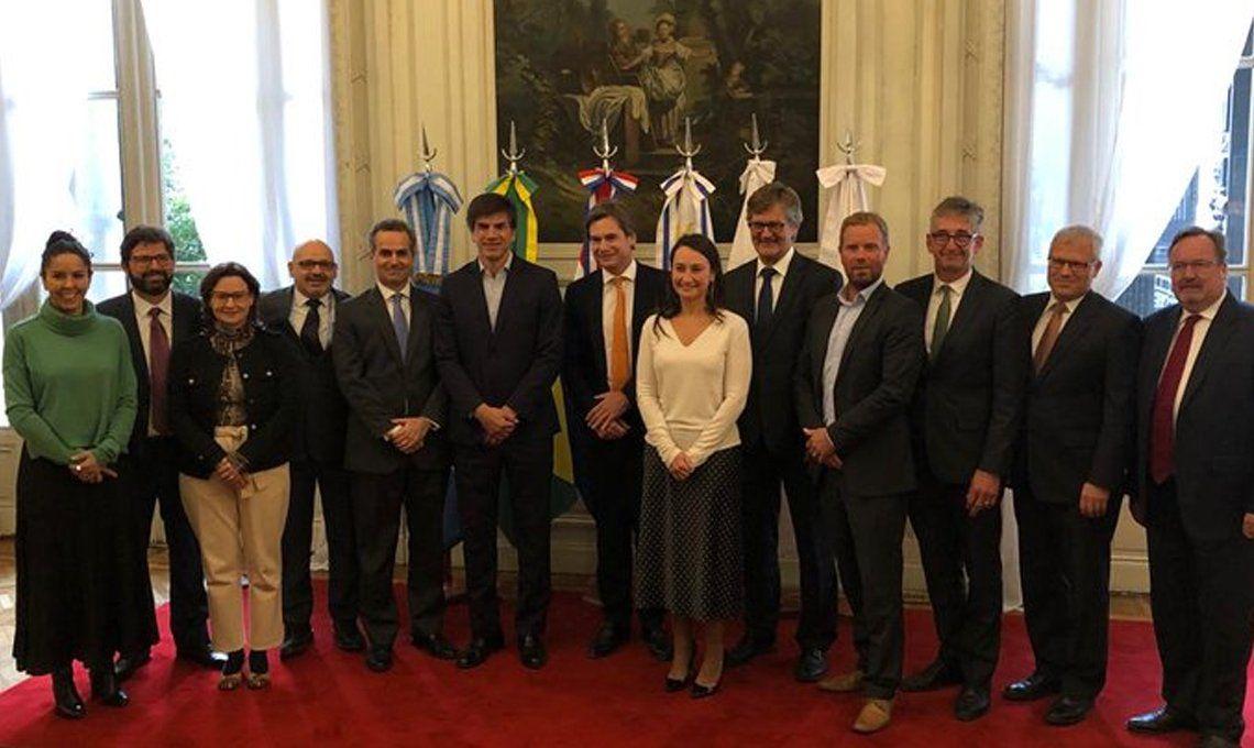 Buenos Aires: cuatro países europeos que no pertenecen a la Unión Europea firmaron un acuerdo comercial con el Mercosur