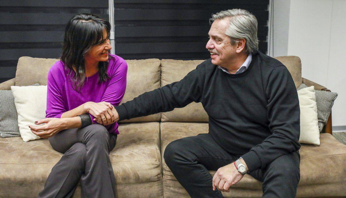 Alberto Fernández se reunió con la legisladora cordobesa Natalia de la Sota