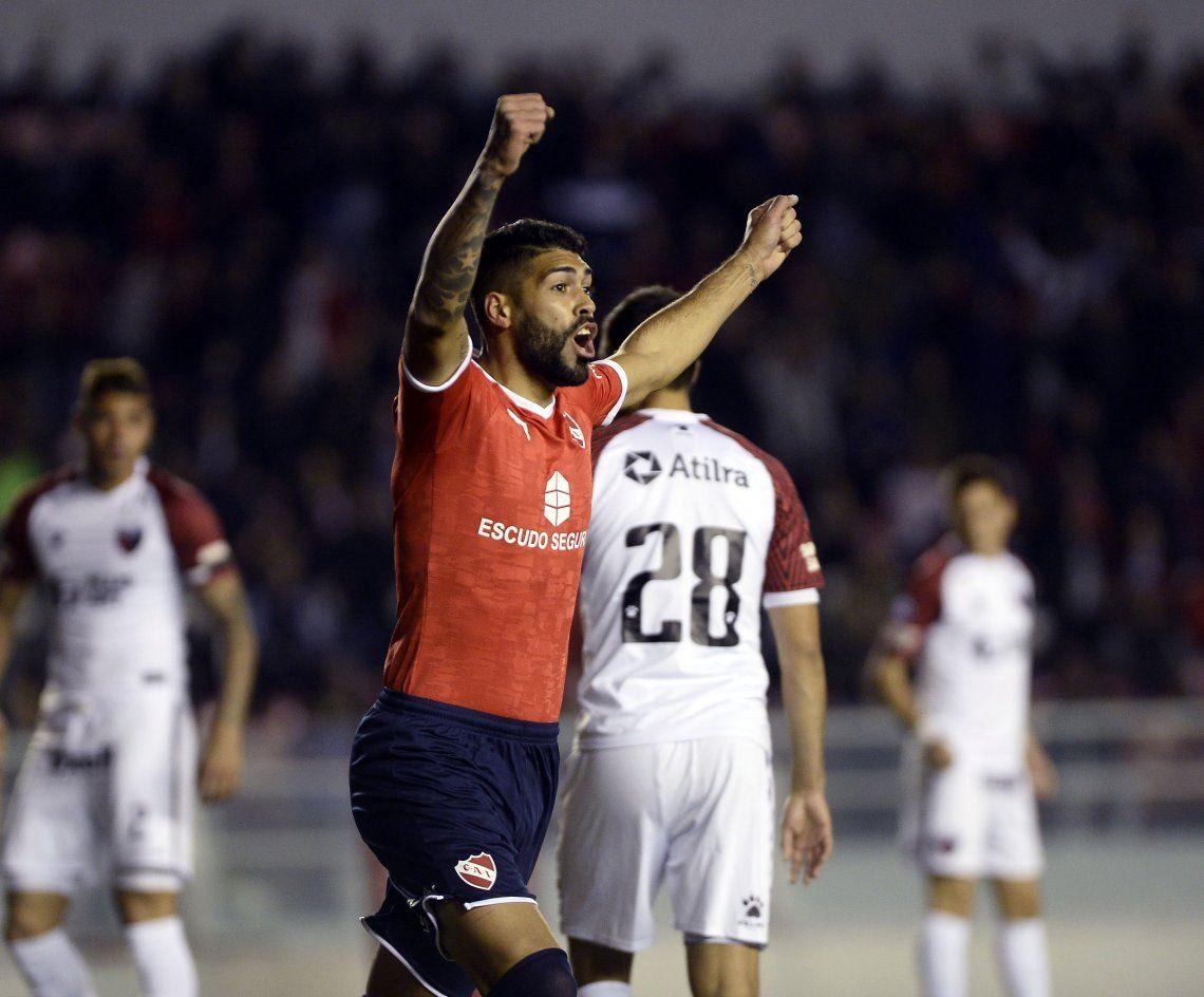 Independiente despertó y le ganó muy bien a Colón