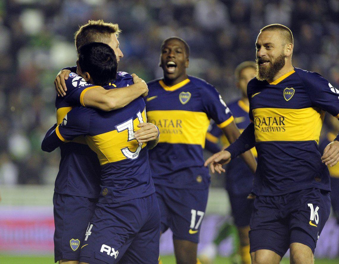 Superliga: con un gol de Franco Soldano a los 20 segundos, Boca no jugó bien pero le ganó a Banfield en la previa del Superclásico y es puntero del campeonato