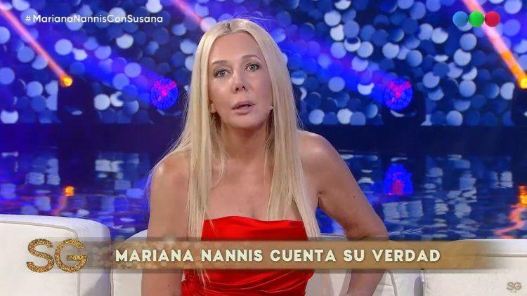 Nannis reveló que Caniggia fue violento con ella y que le icardeó la mujer a un amigo