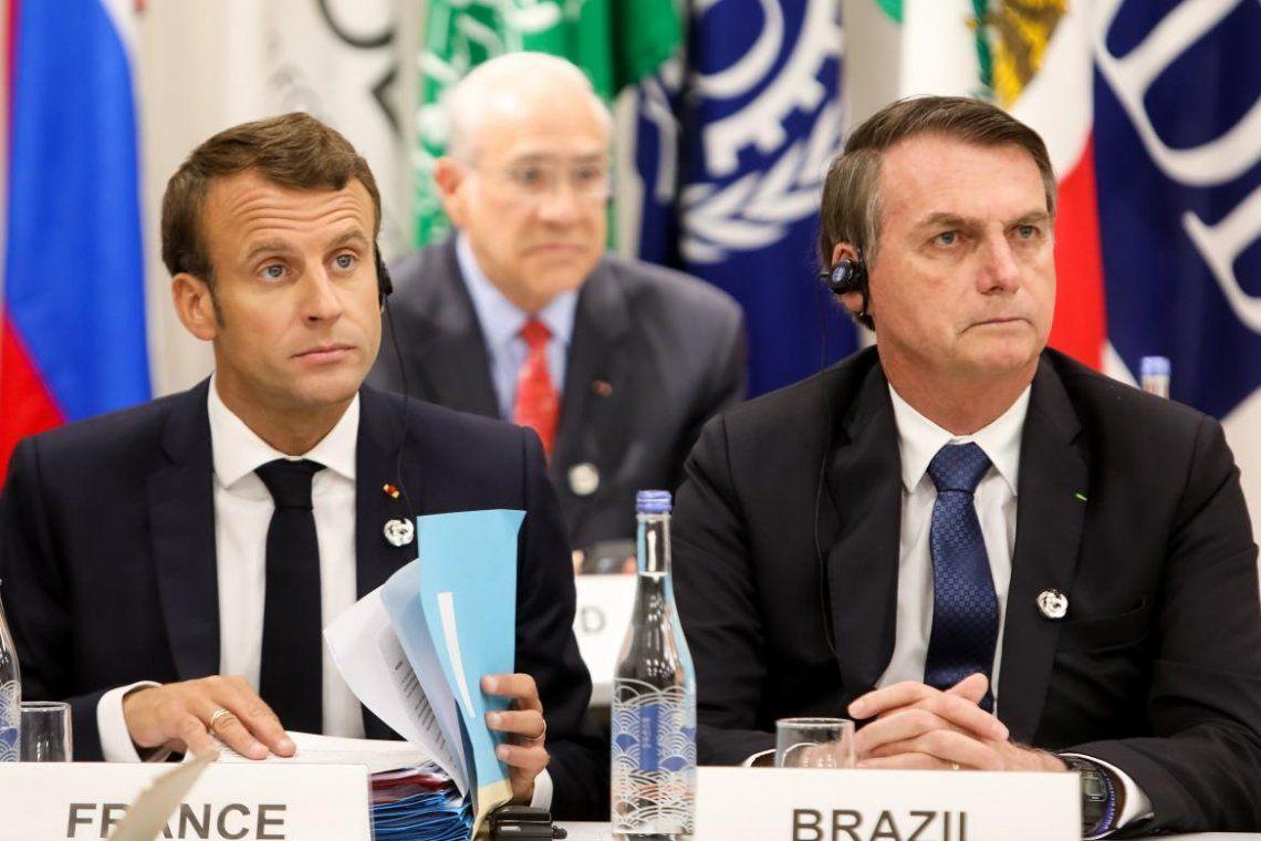 Bolsonaro se burló de la mujer de Macron y el presidente de Francia respondió: Ojalá Brasil tenga un presidente a la altura